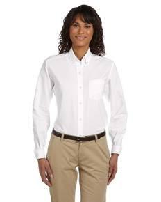 Van Heusen 59800 Ladies' Long-Sleeve Wrinkle-Resistant Oxford