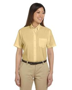 Van Heusen 59850 Ladies' Short-Sleeve Wrinkle-Resistant Oxford