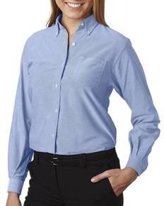 Van Heusen 59800 Ladies' Classic Long-Sleeve Oxford