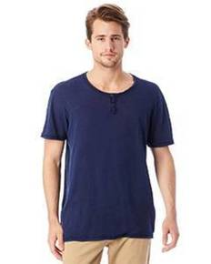 alternative-drop-ship-6897j1-home-team-garment-dyed-slub-henley-shirt