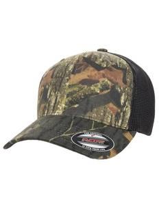 Flexfit 6911 Adult Mossy Oak Stretch Mesh Cap