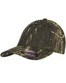 Flexfit 6999 Adult Mossy Oak® Pattern Camouflage Cap