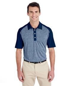 adidas Golf A145 Men's Heather Block Polo