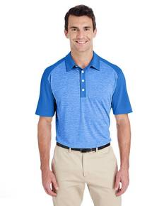 adidas Golf A145 Men's Heather Block Polo