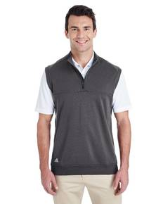 adidas Golf A271 Men's Quarter-Zip Club Vest