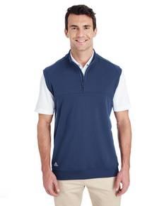 adidas Golf A271 Men's Quarter-Zip Club Vest