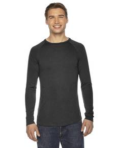 Authentic Pigment AP203 Men's True Spirit Raglan T-Shirt