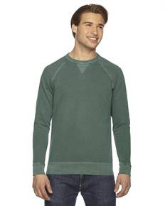 Authentic Pigment AP205 Men's French Terry Crew