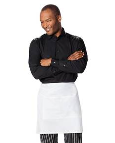 Dickies Chef DC57 Half Bistro Waist Apron with 2 Pockets