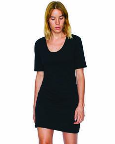 American Apparel SA2314W Ladies' Fine Jersey Short-Sleeve T-Shirt Dress
