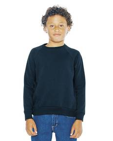 American Apparel SA5254W Youth California Fleece Raglan Sweatshirt