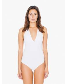 American Apparel SA8312W Ladies' Cotton Spandex Halter Bodysuit