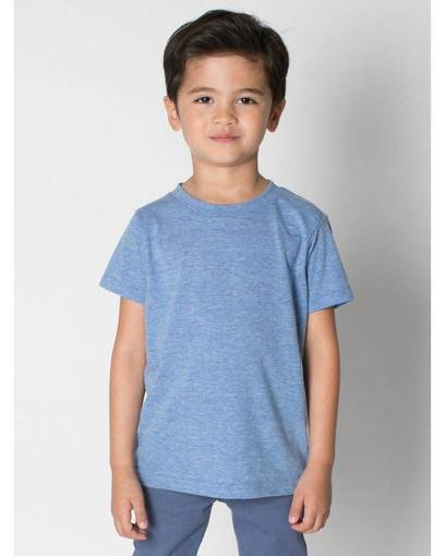 american apparel tr101w toddler triblend short-sleeve t-shirt front image