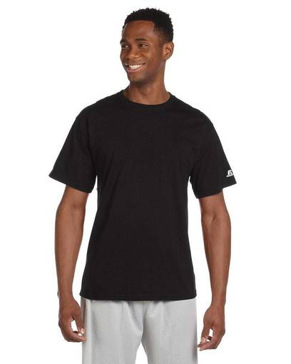 russell athletic 67014m cotton t-shirt front image