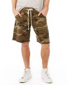 Alternative 05284F Men's Burnout French Terry Victory Short