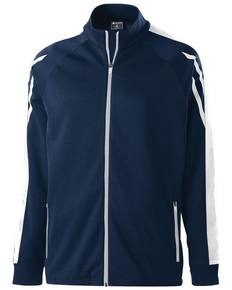 Holloway 229668 Youth Temp-Sof Performance Fleece Flux Warm-Up Jacket