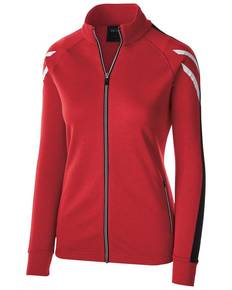 Holloway 229768 Ladies' Temp-Sof Performance Fleece Flux Warm-Up Jacket