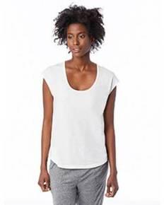 Alternative Drop Ship 2906P Ladies' Melrose Organic Pima Cotton Scoop T-Shirt