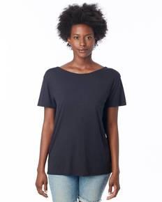 Alternative 3098B2 Ladies' Cross-Back Slinky-Jersey T-Shirt