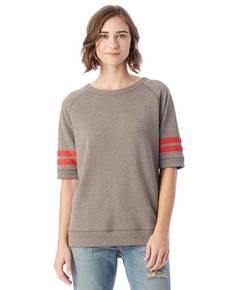 Alternative 5066BT Ladies' Fifty Yardliner Vintage French Terry Sweatshirt