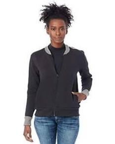 Alternative Drop Ship 5112BT Ladies' Squad Vintage French Terry Bomber Jacket