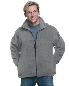 Bayside BA1130 Unisex Full-Zip Polar Fleece Jacket