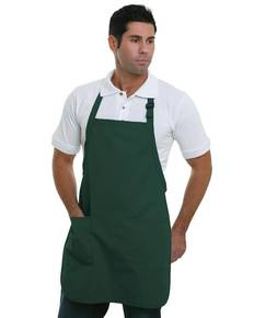 Bayside BA4350 65% polyester / 35% cotton Deluxe Full-Length Bib Apron