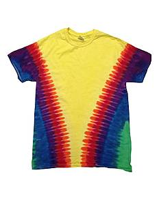 Tie-Dye CD100 Adult 5.4 oz., 100% Cotton T-Shirt
