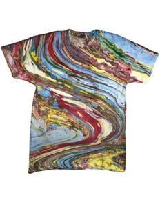 Tie-Dye CD1111 Adult 100% Cotton Marble T-Shirt