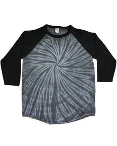 Tie-Dye Drop Ship CD2700 Raglan Long Sleeve T-Shirt