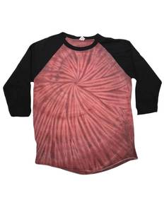 Tie-Dye CD2700 Raglan Long Sleeve T-Shirt
