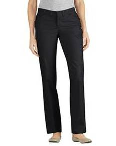 Dickies Drop Ship FP441 Ladies' Premium Curvy Straight Flat Front Pant