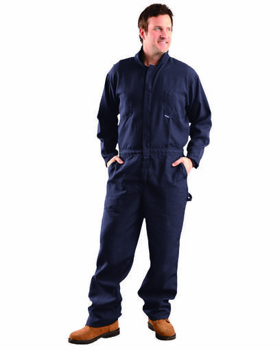 occunomix g904n men's premium nomex® flame resistant hrc 1 coverall front image