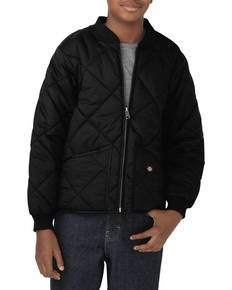 Dickies Drop Ship KJ242 Youth Quilted Nylon Jacket