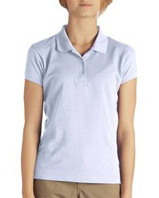 Dickies KS3952 Girl's  Short-Sleeve Pique Polo