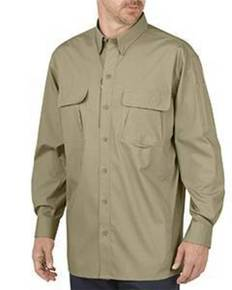 Dickies LL953T Unisex Tall Tactical Ventilated Ripstop Long-Sleeve Shirt