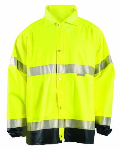 occunomix luxtjr men's premium flame resistant rain jacket front image