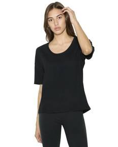 American Apparel SA2320W Ladies' Power Wash Deep U-Neck T-Shirt