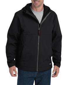 Dickies SJ377 Men's Performance Flex Soft Shell Jacket with Hood