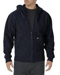 Dickies Drop Ship TW391 Unisex Midweight Fleece Full Zip Hoodie