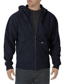 Dickies TW391 Unisex Midweight Fleece Full Zip Hoodie