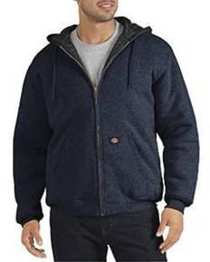 Dickies TW394T Unisex Tall Heavyweight Quilted Fleece Hoodie