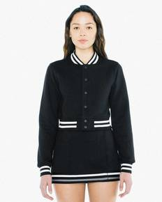 American Apparel VT3529W Ladies' Heavy Terry Cropped Club Jacket