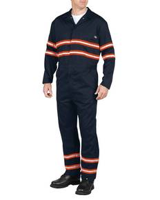 Dickies Drop Ship VV601 Men's Enhanced Visibility Long-Sleeve Coverall