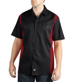 Dickies WS508 Men's Two-Tone Short-Sleeve Work Shirt