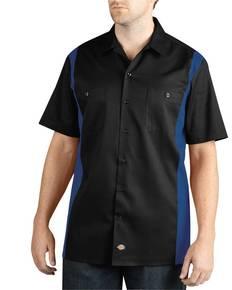 Dickies Drop Ship WS508 Men's Two-Tone Short-Sleeve Work Shirt