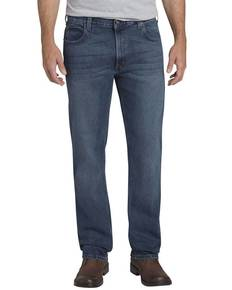 Dickies Drop Ship XD740 Men's X-Series Relaxed Fit Straight-Leg 5-Pocket Denim Jean Pant