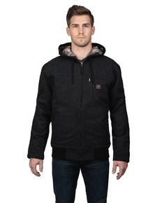 Walls Outdoor YJ524 Unisex Workwear Muscle Back Hooded Jacket with Kevlar