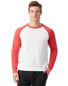 Alternative AA3202 Unisex Champ Eco-Fleece Colorblocked Sweatshirt