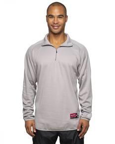 Rawlings Drop Ship RP9751 Adult 8.8 oz., Polyester Fleece 1/4-Zip Sweatshirt